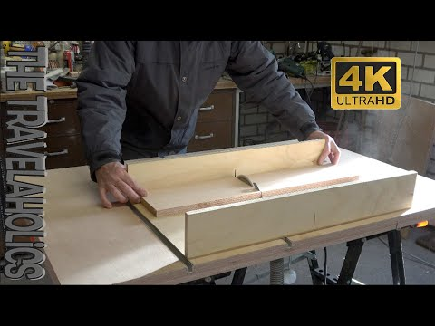 Wood workstation 3 in 1 Workshop (Homemade table saw, router table,  jigsaw table) compact version.