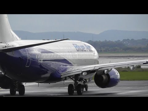 Rainy Morning Plane Spotting at Liverpool Airport, LPL | 30-09-17
