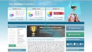 cBank.cc Online Investment Website