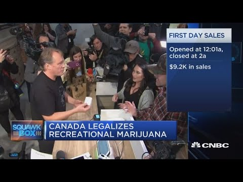 Canopy Growth CEO on marijuana legalization