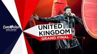 James Newman - Embers - LIVE - United Kingdom 🇬🇧 - Grand Final - Eurovision 2021