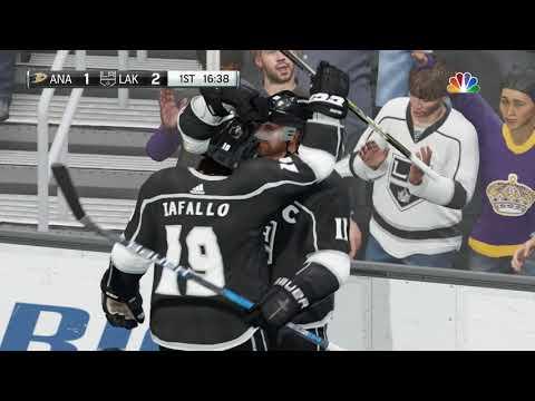 NHL 18 Anaheim Ducks vs Los Angeles Kings
