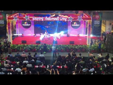 050817 KPOP WORLD FESTIVAL SINGAPORE LEE JUNG SHIN #5 (VIXX PERFORMANCE)