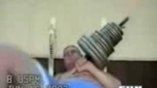 accidentes por levantar pesas