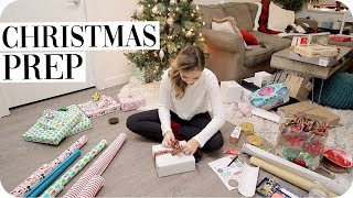 Christmas Prep - Wrap with Me!