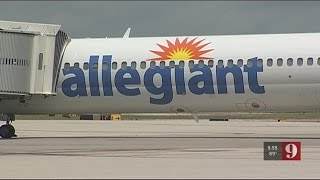 Video: Allegiant airbus A-320 coming to Orlando Sanford International