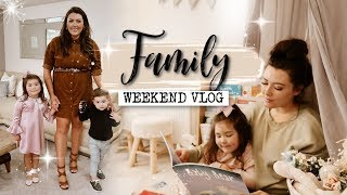 FAMILY WEEKEND VLOG | SURPRISE PARTY!