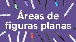 ÁREAS DE FIGURAS PLANAS: MATEMÁTICA PARA O ENEM | QUER QUE DESENHE? | DESCOMPLICA