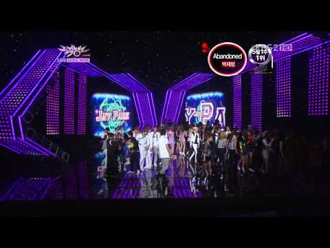 20110506-Music Bank Compete for rank NO.1