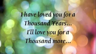 Christina Perri A Thousand Years