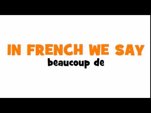 Learn 1 French Word With Loulou # How To Say = A Lot Of