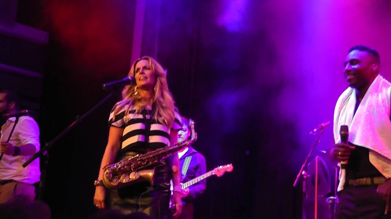 Candy Dulfer Mainz 2013 Pick Up The Pieces Unplugged - YouTube