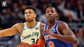 New York Knicks vs Milwaukee Bucks - Full Game Highlights   December 2, 2019   2019-20 NBA Season