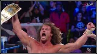 WWE No Mercy 2016 - Dolph Ziggler Wins the IC Championship & IS NOT Retiring !