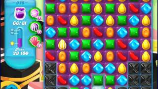 Candy Crush Saga SODA Level 975 CE