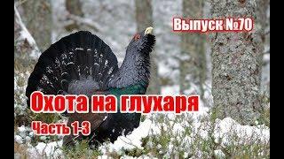 Охота на глухаря (часть 1-3), выпуск №70 (RUS)