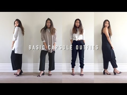 5 EILEEN FISHER PIECES, 19 OUTFITS | inspiroue