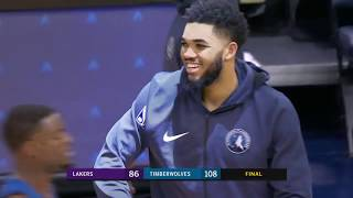 Los Angeles Lakers vs Minnesota Timberwolves : January 06, 2019