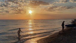 Закат 17.08.2018 - Тишина  Красота #АНАПА #ВИТЯЗЕВО #ДЖЕМЕТЕ