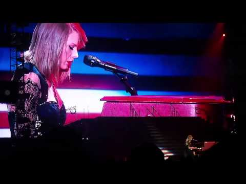 Taylor Swift RedTour live in Singapore  I knew you were trouble & All Too Well