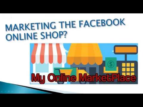 A live demo of linking the MBC to the Facebook Online Shop 11/16/2016 Training