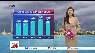 Bão số 6 sẽ suy yếu thành áp thấp nhiệt đới khi vào Việt Nam | VTV24