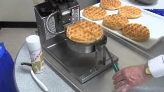 5021ET Belgian Waffle Baker Training Video