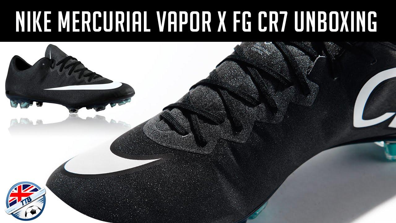 [TTB] Nike Mercurial Vapor X FG CR7 Unboxing - YouTube