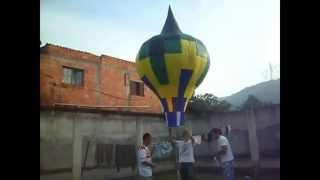 Balões na Copa  2014 T. União Caxias #1