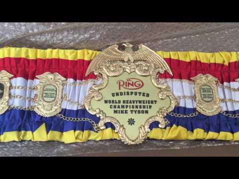 The Ring Championship Belt!!!!