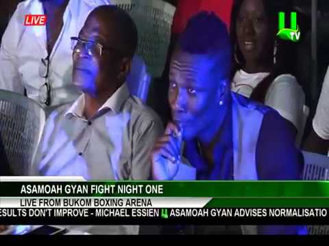 Article Wan performs 'One Thing' at Asamoah Gyan Fight Night 1