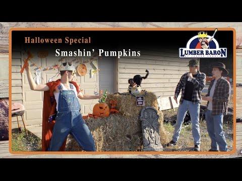 """Smashin' Pumpkins""  Lumber Baron Halloween Webisode - Comedy Web Series"