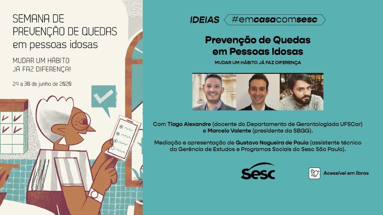 Aula SESC São Paulo - Prevenção Quedas em Idosos