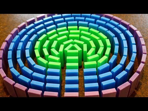 "How To Build a Domino ""CIRCLE FIELD"" (ft. AllAroundAudrey)"