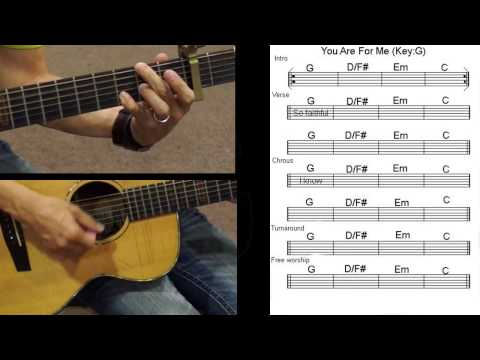 You are for Me chords by Kari Jobe - Worship Chords
