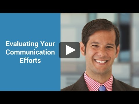 Evaluating Your Communication Efforts