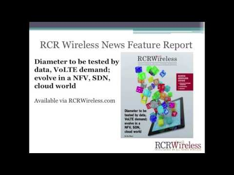 Editorial Webinar: Diameter signaling impact/benefits/challenges in a NFV, SDN, cloud world