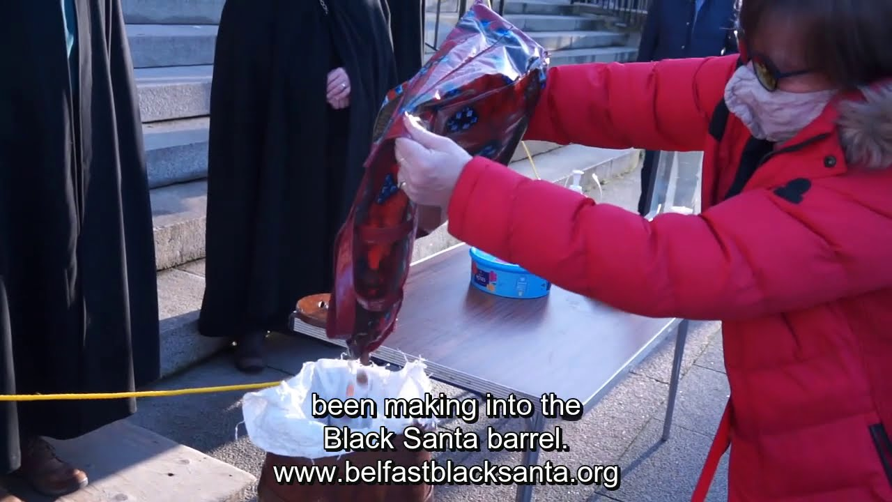 Belfast Black Santa - Daily Blog - Day 6 22/12/2020
