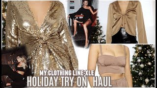 HOLIDAY TRY ON HAUL! XLE DROP 3! | Lauren Elizabeth