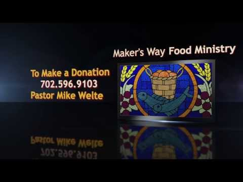 Maker's Way Food Ministry in North Las Vegas, Nevada provides free food