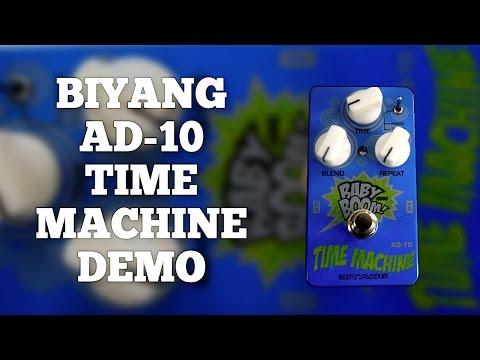 Biyang AD-10 Time Machine Analog Delay Demo