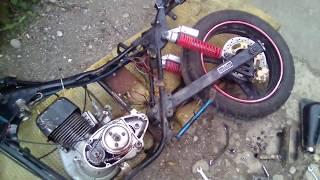 """Ремонт кик стартера на китайском мотоцикле тула тмз"""""""