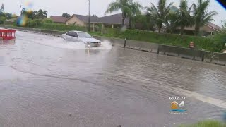 Tropical Storm Gordon Drenches, Floods South Florida Roads