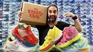 Bob Esponja y Nike la colección de sneakers completa!