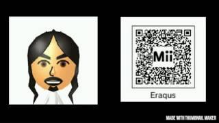Kingdom Hearts Mii Characters Qr Codes