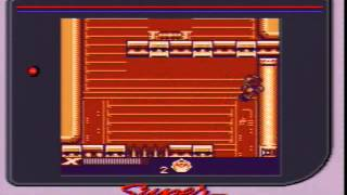 Mega Man Xtreme (Game Boy Color) normal mode.