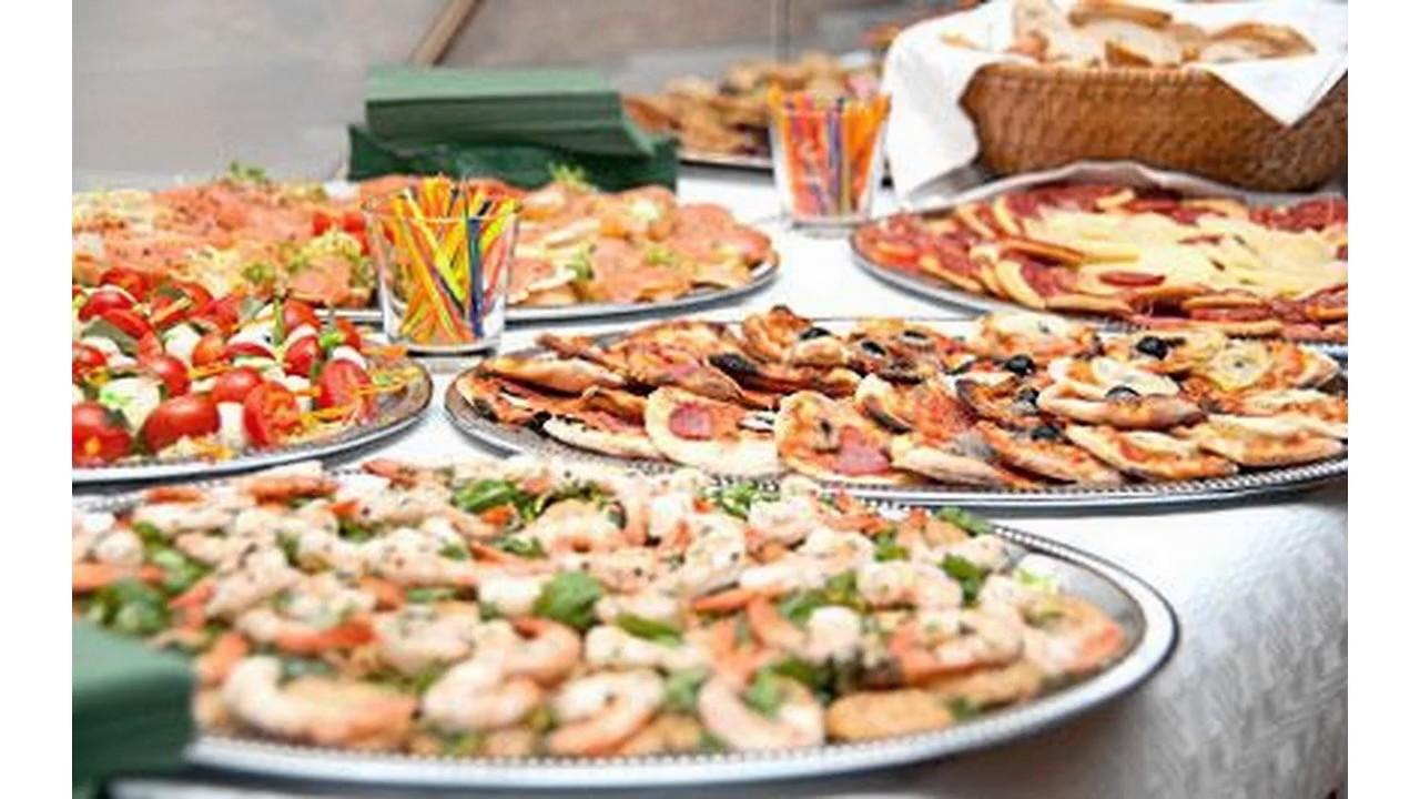 Ideas de la comida del buffet de la boda youtube for Casa jardin buffet