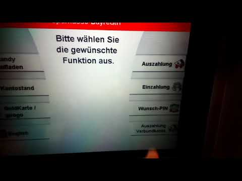 Self-Service Banking Technology In Germany | Sparkasse SB Terminal