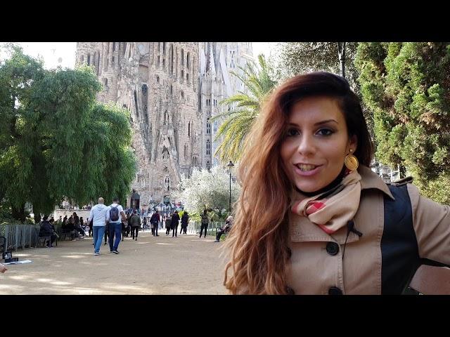 100 Híres épület a világban - 3. rész Sagrada Família | Tamás Anita