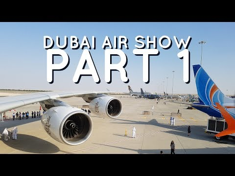 Dubai Air Show | Part 1 - Inside Airbus A380 Emirates